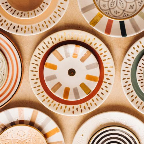 Chabi Chic vaisselle Sidi-Ghanem Marrakech