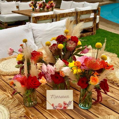 Kiosque à Fleurs Sidi-Ghanem Marrakech